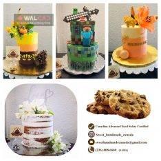 تهیه کیک و شیرینی