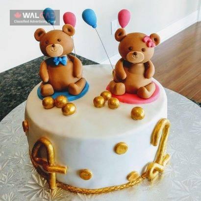 کیک های خانگی تولد