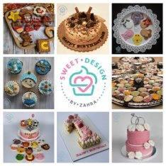 سفارش انواع کوکی، کاپ کیک با طراحی خاص