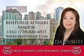 مشاور املاک Behfuruz Afshari در Port Coquitlam