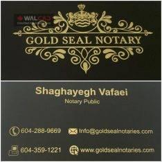 محضر و دفتر اسناد رسمی GOLD SEAL