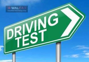 رزرو تایم امتحان رانندگی
