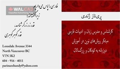 مدرس زبان و ادبیات فارسی