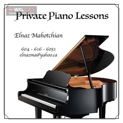 آموزش خصوصی پیانو