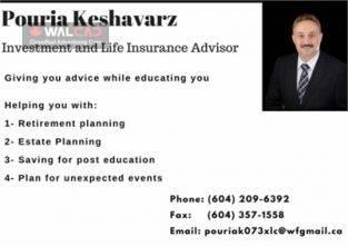 مشاور بیمه عمر و سرمایه گذاری
