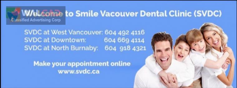 کلینیک دندانپزشکیSmile Vancouver Dental Clinic ( دکتر کیان یکتا)