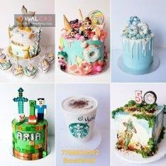 کیک فانتزی با طعم های خاص