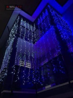 نصب ال ای دی و روشنایی مراسمها و کریسمس