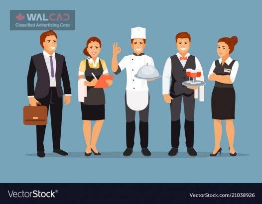 کار در پیتزا  فروشی / نورت وونکوور