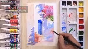 آموزش حرفه ای طراحی- نقاشی رنگ و روغن- آبرنگ-