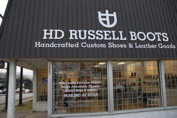 فروشگاه کفش چرم دست دوزHD Russell Boots