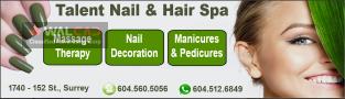 خدمات زیبایی مو و ناخن