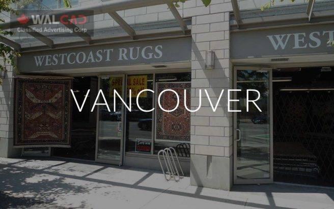 فرش فروشی West Coast Rugs شعبه Vancouver