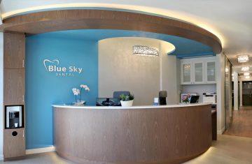 کلینیک دندانپزشکی – Blue Sky