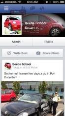 آموزشگاه رانندگی- Beetle School